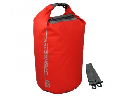 Waterproof Dry Bag - Wetsuit Bag – Red Dry Tube Bag – 30L | OverBoard