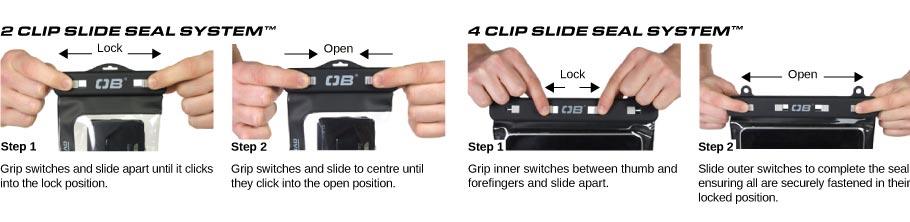 Waterproof Case Sealing System